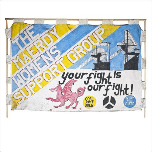 Greetings card the banner of the maerdy womens support group greetings card the banner of the maerdy womens support group m4hsunfo