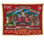 The front of the banner of SERTUC